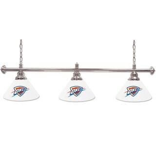 Oklahoma City Thunder NBA 3-shade Billiard Lamp