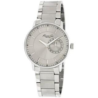 Kenneth Cole Men's Classics Silver Steel Quartz Watch