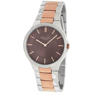 Kenneth Cole Women's Slim Two-tone Steel Quartz Watch