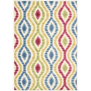 Waverly Aura Flora by Nourison Lipstick Area Rug (5'3 x 7'5)