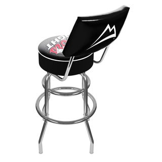 Trademark Games Coors Light Padded Bar Stool with Back