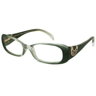 Fendi Readers Women's F847 Rectangular Green Fade Reading Glasses