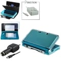 BasAcc Leather Case/ Screen Protector/ Chargers for Nintendo 3DS
