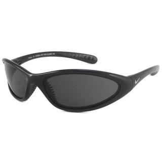 Nike Men's Tarj Classic Black/Gray Wrap Sunglasses