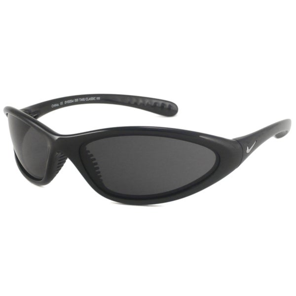 Nike Men's Tarj Classic Black/Gray Wrap Sunglasses