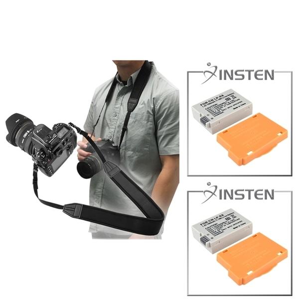 INSTEN Battery/ Hand Strap for Canon EOS Rebel 600D