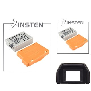 INSTEN Batteries/ Eyecup for Canon Rebel T2i/ Kiss X4