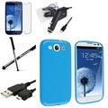 BasAcc Case/ Screen Protector/ Charger/ Stylus for Samsung Galaxy S3