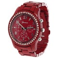 Geneva Platinum Women&#39;s Chronograph-style Watch