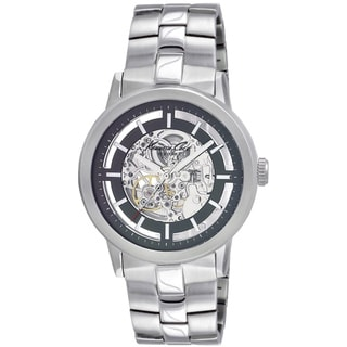 Kenneth Cole Men's 'New York KC3925' Silvertone Stainless Steel Quartz Watch