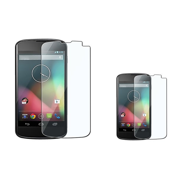 BasAcc Screen Protector for LG Nexus 4 E960 (Pack of 2)