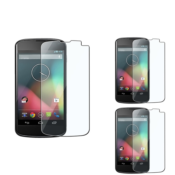 BasAcc Screen Protector for LG Nexus 4 E960 (Pack of 3)