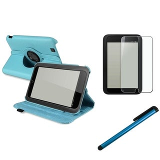 BasAcc Blue Case/ Screen Protector/ Stylus for Barnes & Noble Nook HD