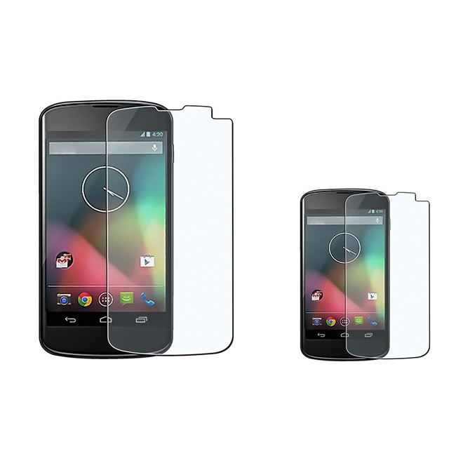 BasAcc Anti-glare Screen Protector for LG Nexus 4 E960 (Pack of 2) at Sears.com
