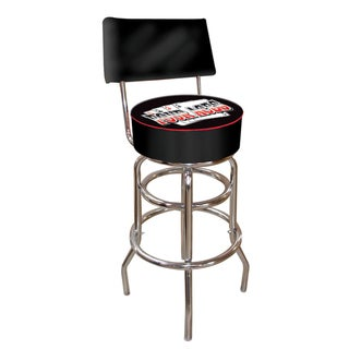 Trademark Games Four Aces Padded Bar Stool with Back