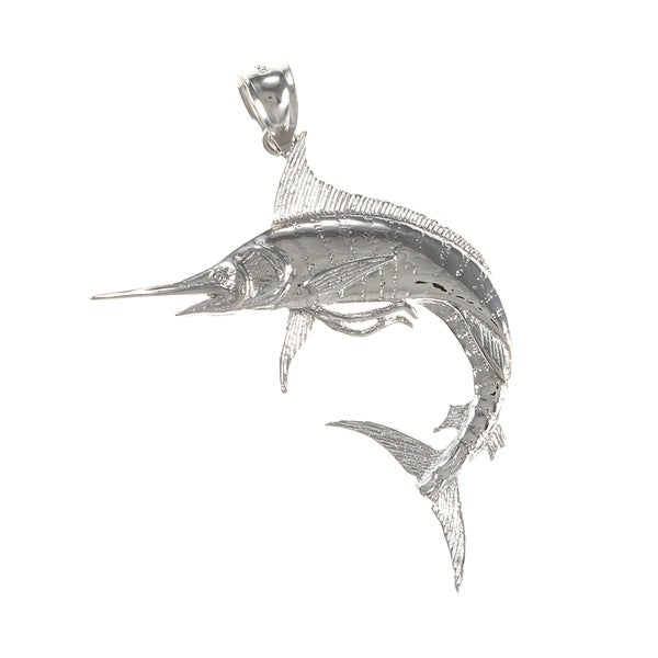 Sterling Silver Marlin Charms
