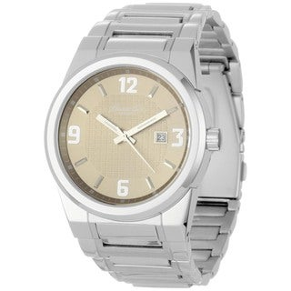 Kenneth Cole Men's Silver Stainless-Steel Quartz Watch