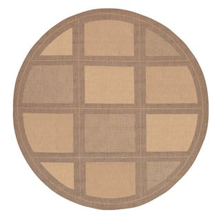 Recife Summit Natural/Cocoa Rug (8'6 Round)