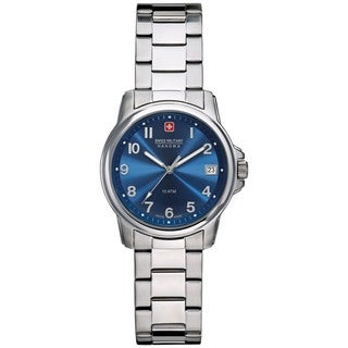 Swiss Military Hanowa Women's Swiss Soldier Silver Stainless Steel Swiss Quartz Watch
