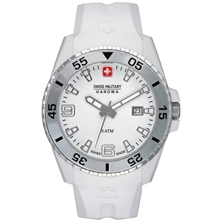Swiss Military Hanowa Men's Ranger White Polyurethane Swiss Quartz Watch
