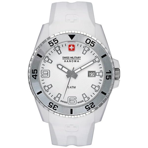 Swiss Military Hanowa Men's Ranger White Polyurethane Swiss Quartz Watch