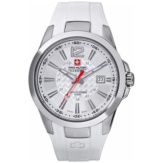 Swiss Military Hanowa Men's Predator Silver Nylon Quartz Watch