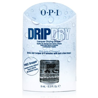 OPI Drip Dry Drops Top Nail Coat