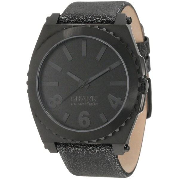 Freestyle Men's Black Calf Skin Strap Quartz Watch