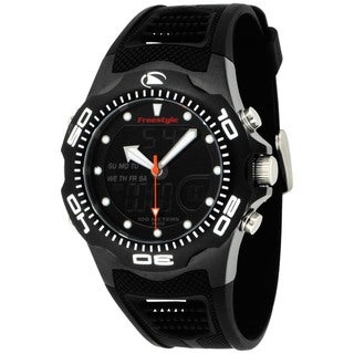 Freestyle Men's Shark Black Polyurethane Quartz Watch