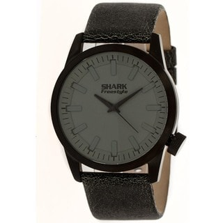 Freestyle Men's Skate Black Calfskin Classic Strap Quartz Watch
