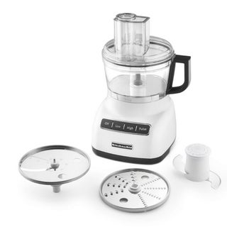 KitchenAid KPF0711WH White 7-cup Food Processor