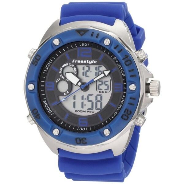 Freestyle Men's Precision 2.0 Blue Polyurethane Quartz Watch