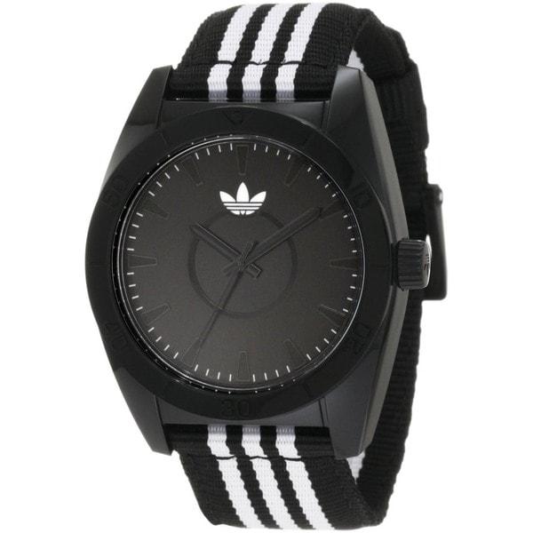 Adidas Men's Santiago Two-Tone Cloth Quartz Watch 10632907