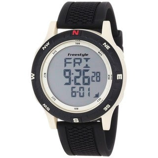 Freestyle Men's Navigation Black Silicone Quartz Watch