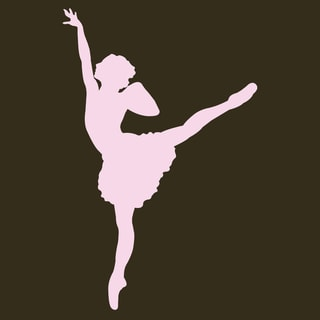 'Ballet Dancer #2' Print Art