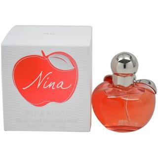 Nina Ricci Nina Women's 1-ounce Eau de Toilette Spray