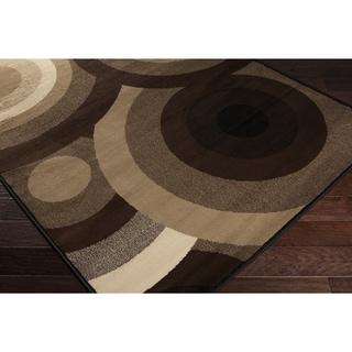 Sandy Circles Barley Area Rug (5'3 x 7'6)