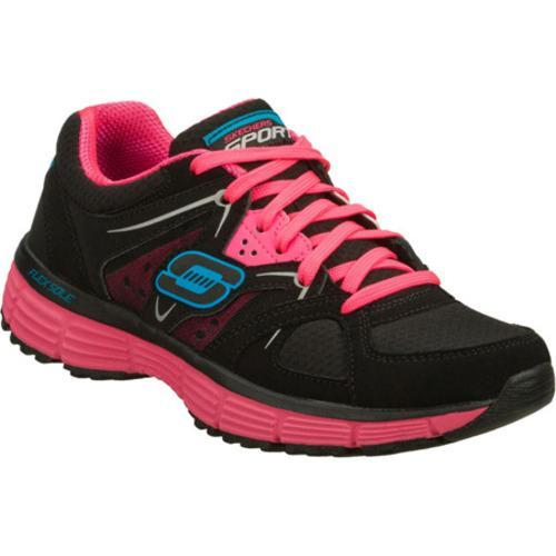 Women's Skechers Agility New Vision Black/Pink