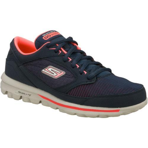 Women's Skechers GOwalk Baby Navy/Pink
