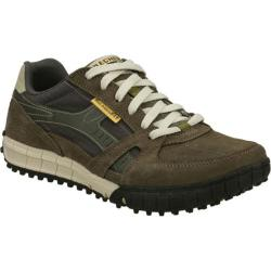 Men's Skechers Relaxed Fit Floater Olive/Black