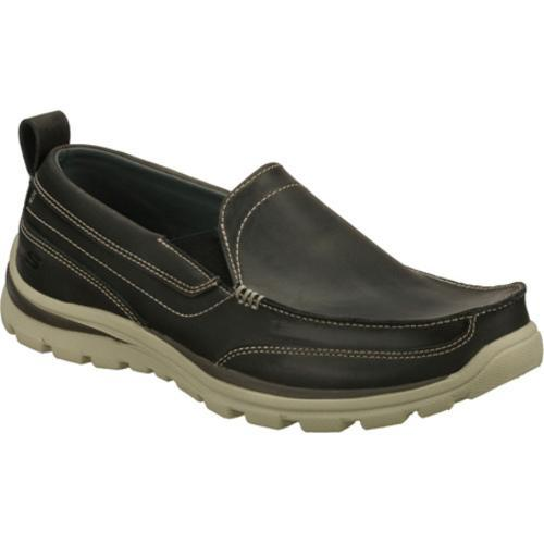 Men's Skechers Relaxed Fit Superior Gains Gray