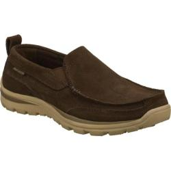 Men's Skechers Relaxed Fit Superior Pace Brown