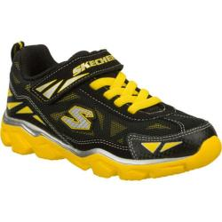 Boys' Skechers Serrated Grumbler Black/Yellow