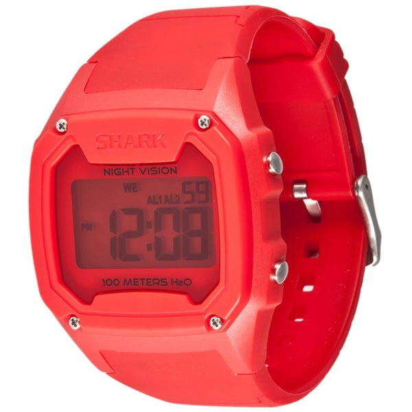 Freestyle Men's 'Killer Shark' Red Silicone Digital Watch