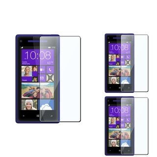 BasAcc Screen Protector for HTC Windows Phone 8X (Pack of 3)