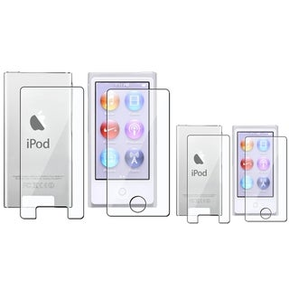 BasAcc 2-LCD Screen Protector Kit for Apple� iPod nano Generation 7 (Pack of 2)