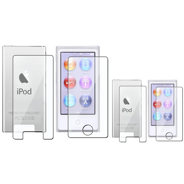 INSTEN 2-LCD Screen Protector Kit for Apple iPod nano Generation 7 (Pack of 2)