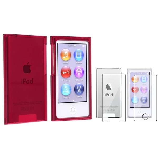 INSTEN iPod Case Cover/ Screen Protector for Apple iPod nano 7th Generation