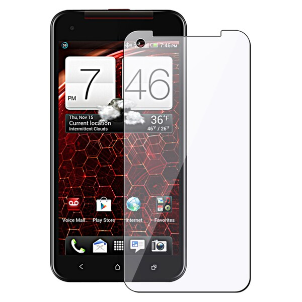 BasAcc Screen Protector for HTC Droid DNA (Pack of 2)