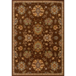 Brown Wool-blend Area Rug (7'10 x 10'10)